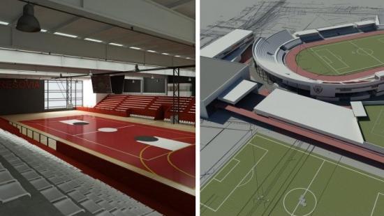 Tak zmieni się stadion Resovii przy ul. Wyspiańskiego. Centrum Lekkiej Atletyki będzie kosztowało 32 mln zł (WIZUALIZACJE)