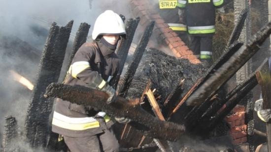 Pożar w Górkach. Spłonęła stodoła i sprzęt gospodarczy