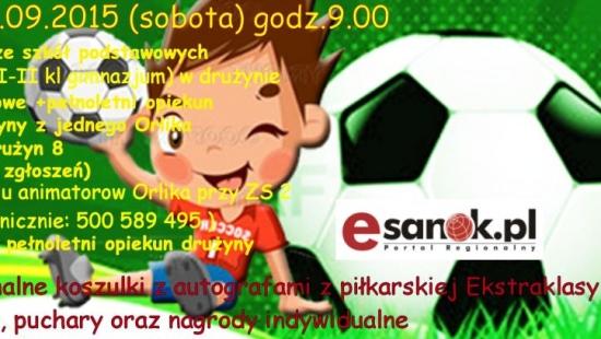 SOBOTA: III Sanockie Mistrzostwa Drużyn Orlikowych