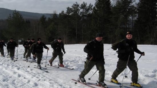 BIESZCZADY: Szkolili się w patrolowaniu granicy na nartach (ZDJĘCIA)