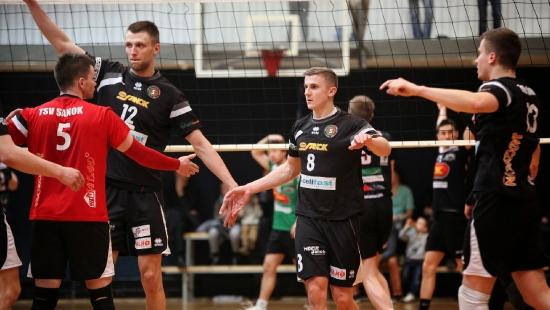 Sanoczanie pokonują Volley Rybnik 3:0 i są o krok od wymarzonego finału. Katowice pokazały siłę (FILM)