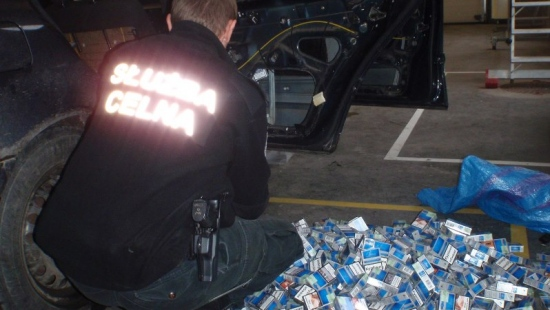 400 paczek papierosów bez akcyzy zatrzymane w Sanoku