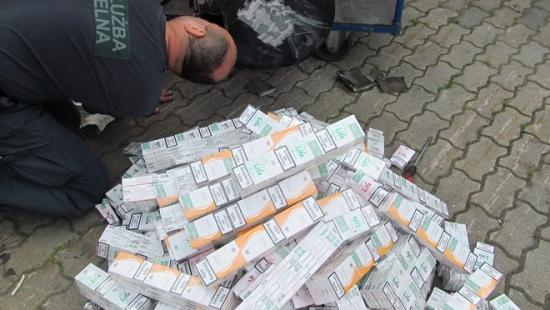 31 mln szt. papierosów w 10 miesięcy (ZDJĘCIA)