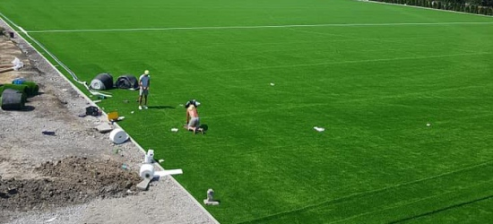 Już jest! Pierwsze w Sanoku boisko piłkarskie ze sztuczną murawą (ZDJĘCIA)