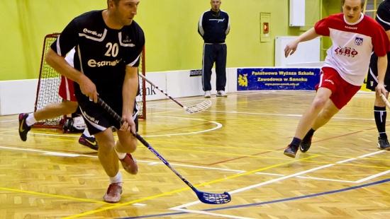 Esanok.pl w półfinale Sanockiej Ligi Unihokeja (FILM, ZDJĘCIA)