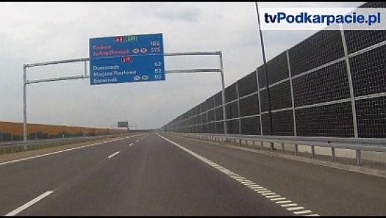 Przejedź z nami pierwszy odcinek autostrady A4 na Podkarpaciu! (VIDEO HD)