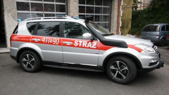 Nowoczesny lekki pojazd trafił do brzozowskich strażaków (ZDJĘCIA)