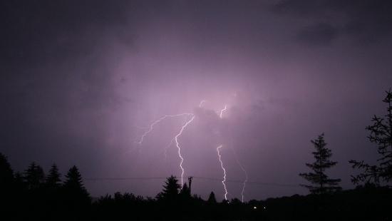 Kolejne burzowe popołudnie w Bieszczadach