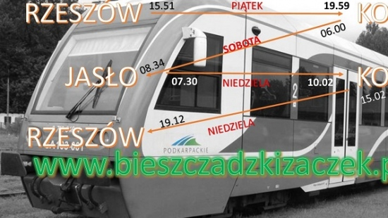 W niedzielę rusza Bieszczadzki Żaczek. Na inaugurację rajd kolejowo-pieszy