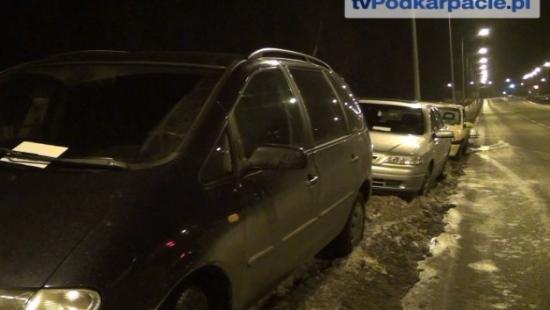 SANOK: Uwaga na parkowanie podczas spotkań hokejowych (FILM)