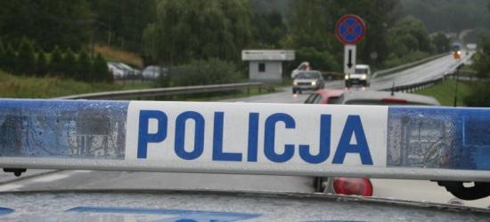 Pościg we Wrocance. Pijany kierowca uciekał przed policjantami