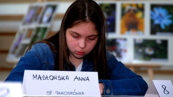 O parkach narodowych wie wszystko. Uczennica z Pakoszówki najlepsza w konkursie (ZDJĘCIA)
