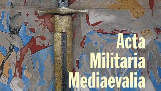 Ukazał się kolejny tom Acta Militaria Mediaevalia