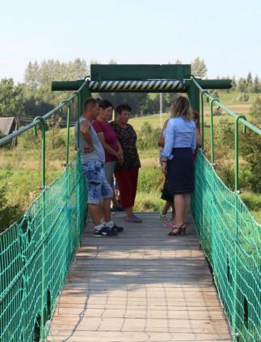 Morochów będzie miał nowy most! Marzenia mieszkańców spełniła wojewoda (FILM, ZDJĘCIA)