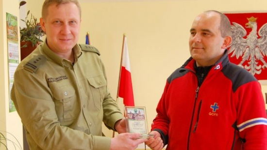O współpracy bieszczadzkich goprowców i pograniczników (ZDJĘCIA)