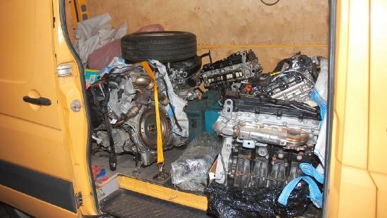 REGION: Silniki skradzione w Anglii zatrzymane w Medyce