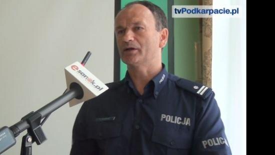 Sprawozdanie z pracy sanockiej policji w 2014 roku. Odnotowano o 20% mniej przestępstw (FILM)