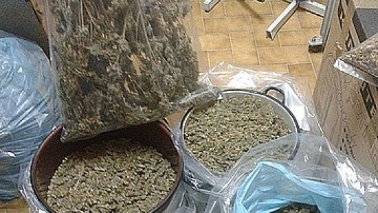 Uderzyli w handlarzy narkotyków. Zatrzymanych 14 osób, zabezpieczono 7 kg narkotyków