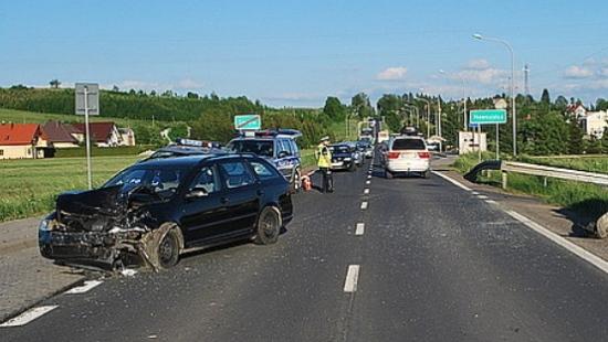 Wypadek w Długiem. 57 – letni Włoch przetransportowany śmigłowcem do szpitala (ZDJĘCIA)