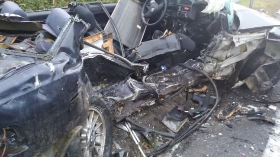 Tragiczny wypadek. Nie żyje trzech młodych sanoczan (ZDJĘCIA)
