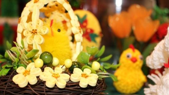 """Jak zwykle pięknie, radośnie i rodzinnie! Wystawa Wielkanocna w """"Górniku"""" już otwarta! (FILM, ZDJĘCIA)"""