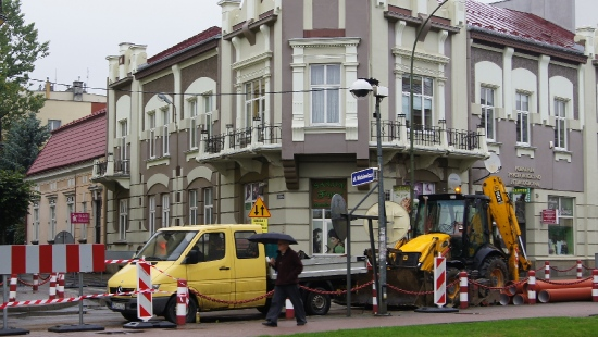 Ruszyły prace na ulicy Kościuszki