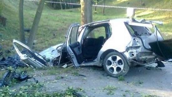 Tragiczny wypadek w Niechobrzu – nie żyją trzy osoby