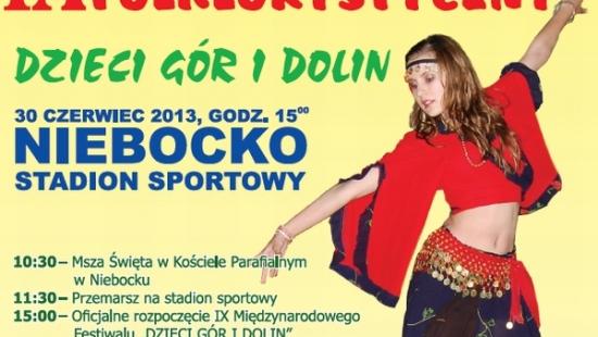 """Międzynarodowy Festiwal Folklorystyczny – """"Dzieci Gór i Dolin"""""""