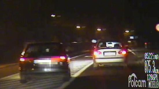 MIELEC: Pościg za nietrzeźwym kierującym (FILM)