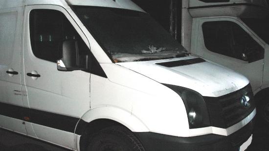 Pogranicznicy zarekwirowali kradzione auto i części samochodowe