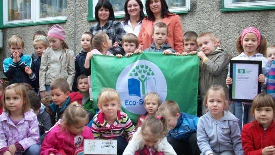 Zielona Flaga dla sanockich przedszkoli (ZDJĘCIA)
