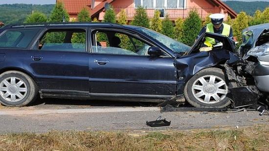 Wypadek w Grabownicy. Siedem osób rannych, w tym dwoje małych dzieci (ZDJĘCIA)