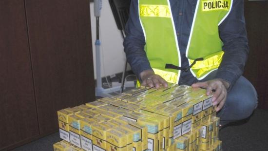 """Podczas działań """"Granica 2017"""" patrol ujawnił nielegalne papierosy"""