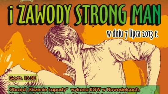 Zawody Strong Man w Nowosielcach