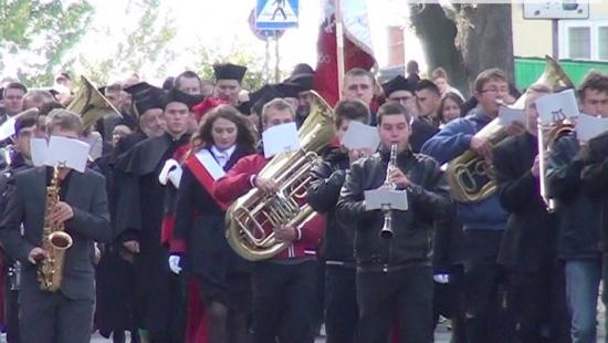Sanoccy studenci zainaugurowali rok akademicki (FILM)