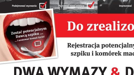 """""""DWA WYMAZY & DO BAZY"""" rusza po raz piąty! Kamil Bednarek twarzą tej edycji. W Sanoku rejestracja w PWSZ"""