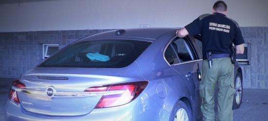 Skradziony w Hiszpanii opel został zatrzymany w Korczowej (FOTO)