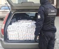 Funkcjonariusze KAS przechwycili kontrabandę wartą ponad 100 tys. złotych (ZDJĘCIA)