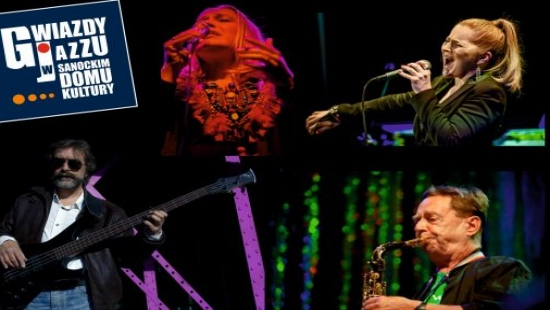 26-29 MARCA: Gwiazdy jazzu w Sanockim Domu Kultury
