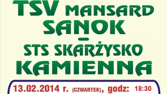 TSV zakończy sezon meczem przed własną publicznością. Sanok – Andrychów już w sobotę