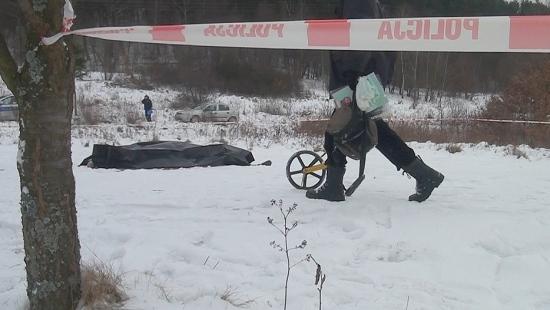 tvPodkarpacie.pl: Pod cerkwią w Międzybrodziu koło Sanoka dokonano egzekucji? (FILM, ZDJĘCIA)