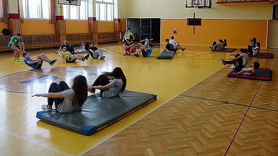 Sanoccy gimnazjaliści uczą się podstaw samoobrony (ZDJĘCIA)