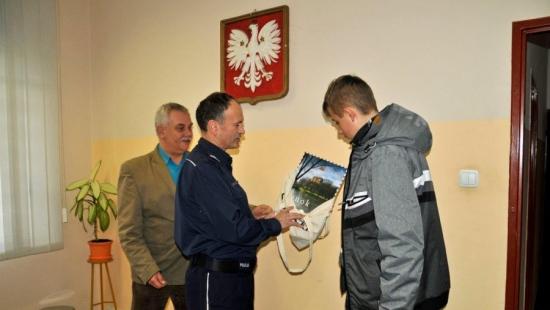 Otrzymali nagrody za oznakowanie rowerów (ZDJĘCIA)