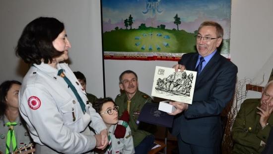 Burmistrz Tadeusz Pióro wziął udział w Harcerskim Spotkaniu Pokoleń (ZDJĘCIA)
