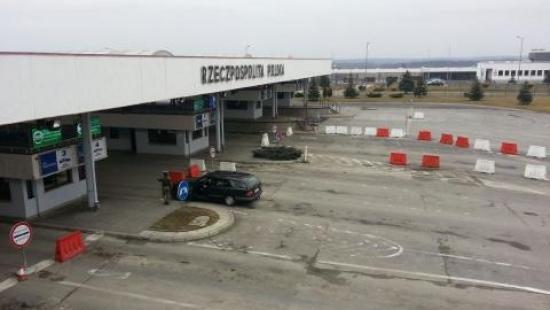 Trwa blokada drogi do przejścia w Korczowej. Blokowane jest także Krościenko