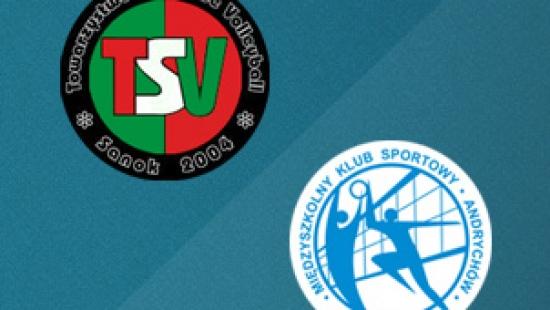 TRANSMISJA NA ŻYWO: Sanoczanie rozpoczynają walkę w play-off. TSV Cellfast Sanok – MKS Andrychów