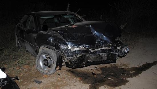 Wypadek w Siedliskach. Kierowca prowadził pod wpływem alkoholu i bez uprawnień (ZDJĘCIA)