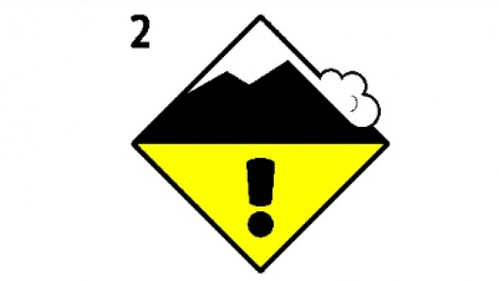 W Bieszczadach II stopień zagrożenia lawinowego