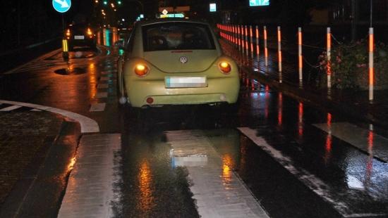 14-latka potrącona na przejściu dla pieszych. Kierującej zatrzymano prawo jazdy (FOTO)