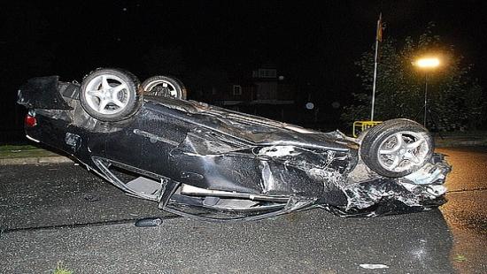 Policjanci ustalili sprawcę wypadku w Komańczy (ZDJĘCIA)